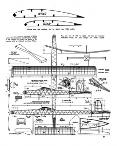 Bilgri Hi and Bye model airplane plan