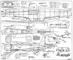 Blackburn Firebrand model airplane plan