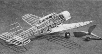 Blackburn Fleet Fighter model airplane plan