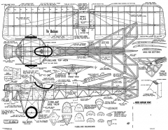 Blackburn Monoplane 43in model airplane plan