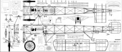 Bleriot 2 model airplane plan