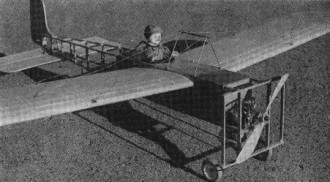 Bleriot model airplane plan
