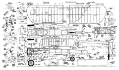 Bleroits Machine model airplane plan