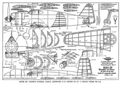 Bloch 152 model airplane plan