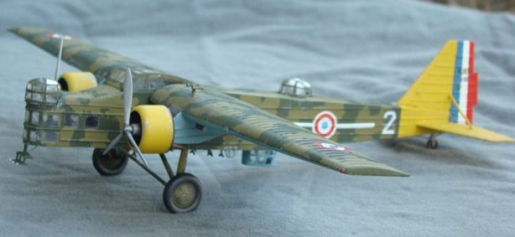 Bloch MB 200 model airplane plan