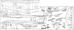 Blue Angel MK model airplane plan