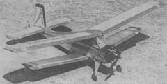 Bobik model airplane plan