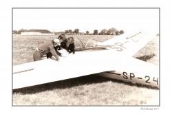 SZD 9 Bocian model airplane plan
