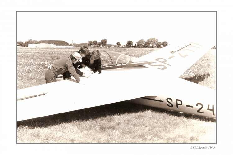 SZD 9 Bocian model airplane plan