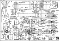Boeing F2B-1 FSI model airplane plan
