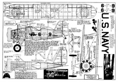 Boeing F4B-4 model airplane plan