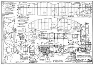 Boeing PW-9C FSI model airplane plan