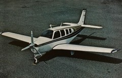 Bonanza A-36 model airplane plan