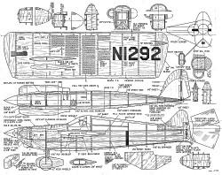 Bonzo CL model airplane plan