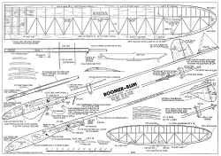 Boomer Bum-FM-12-76 model airplane plan