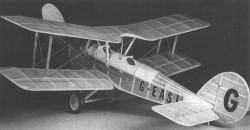 Boulton Paul P-9 model airplane plan