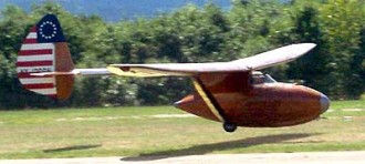 Bowlus Baby Albatross model airplane plan