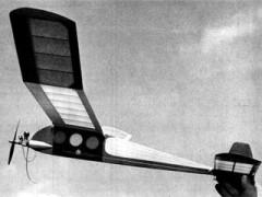 Brians Bullet model airplane plan
