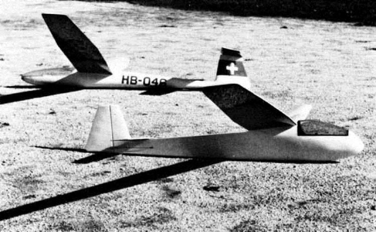 Briegleb BG-12 model airplane plan