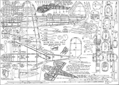 Bristol Blenheim Mk IV model airplane plan