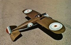 Bristol M.1C Bullet model airplane plan