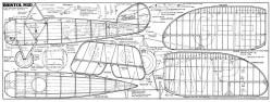 Bristol M.1D model airplane plan