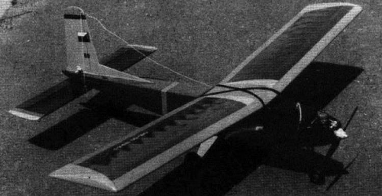 Buldok model airplane plan