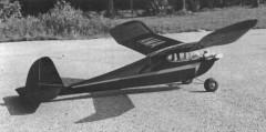 Buzzard Bombshell model airplane plan