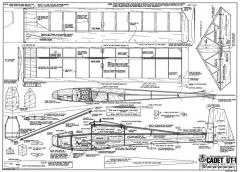 Cadet UT-1-RCM-10-77 model airplane plan