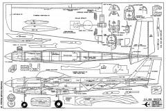 Cajun Queen-AAM-03-73 model airplane plan