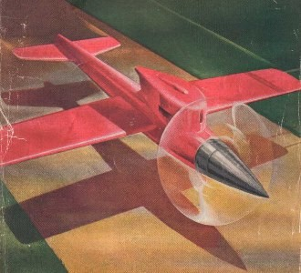 California 49 model airplane plan