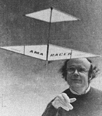 Canardart model airplane plan