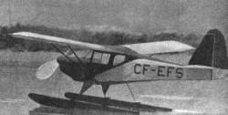 Canuck model airplane plan