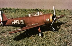 Caproni A.P.1 model airplane plan