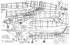 Caravan model airplane plan