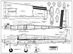 Cardinal RC AAM model airplane plan