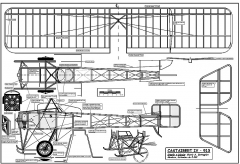 Castaibert IV model airplane plan