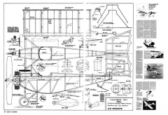 Caudron 1911 Monoplane model airplane plan