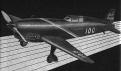 Caudron Racer model airplane plan