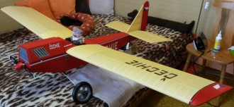 Cechie model airplane plan