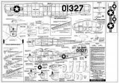 Cessna L-19 Bird Dog model airplane plan