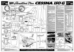 Cessna 150G Graupner-4419 model airplane plan