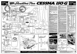 Cessna 150G Graupner-4419 model airplane plan