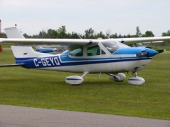 Cessna 177 model airplane plan