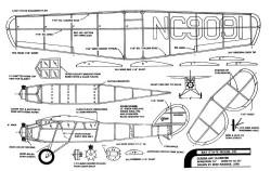 Cessna AW-10 model airplane plan