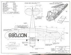 Cessna C-37 model airplane plan