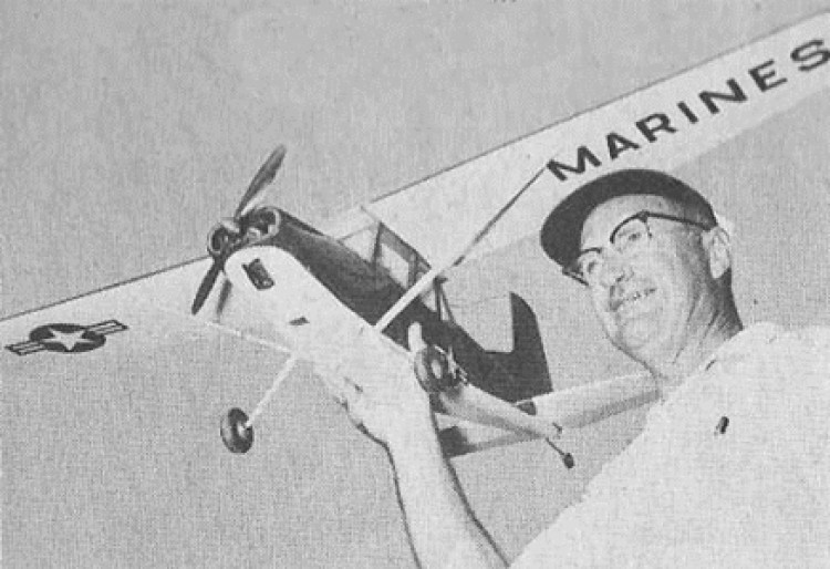 Cessna OE-2 model airplane plan