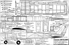 Cessna Skylane model airplane plan