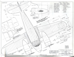 Cessna T50 Bobcat model airplane plan