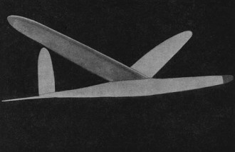 Championship Glider model airplane plan